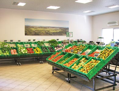B&B Fiore - Fresh fruits and vegetables at Cooperativa Sapore di Sole shop