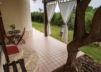 B&B Fiore Pula Sardegna - Veranda 1 Giardino
